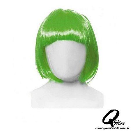 Peruca Chanel Simples - Verde