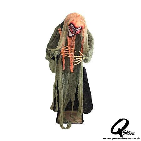 Boneco Halloween Abóbora  c/ 2 Metros   - 1 Unidade
