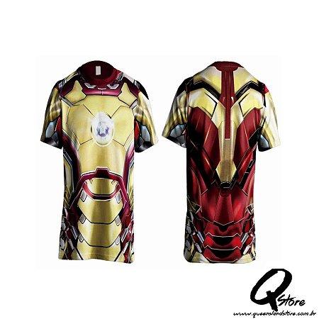 Camisa Personagem - Homem de Ferro