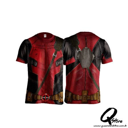 Camisa Personagem - DeadPool