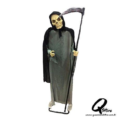 Boneco Halloween Caveira Morte c/ 2 Metros   - 1 Unidade