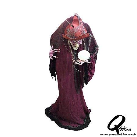 Boneco Halloween Bruxa Vermelha c/ 1,75 m   - 1 Unidade