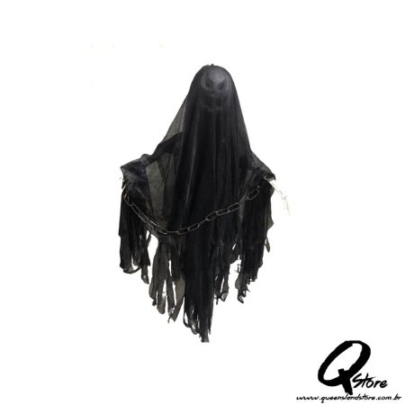 Boneco Halloween Abóbora Fantasma  c/ Movimento  - 1 Unidade