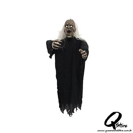 Boneco Bruxa Zumbi c/ Luz   1,5 x 36 cm - 1 Unidade
