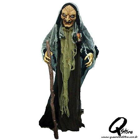 Boneco Halloween Bruxa Velha  c/ 1,75 m- 1 Unidade