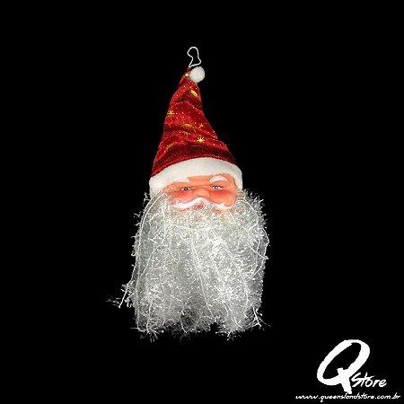 Enfeite Rosto Papai Noel