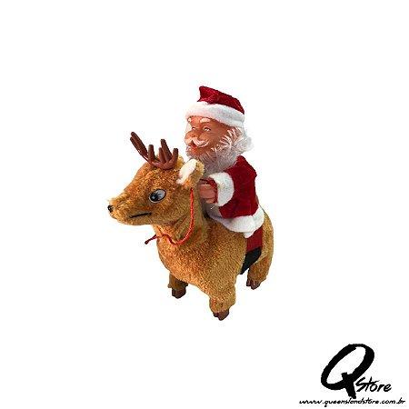 Papai Noel c/ Rena Movimento