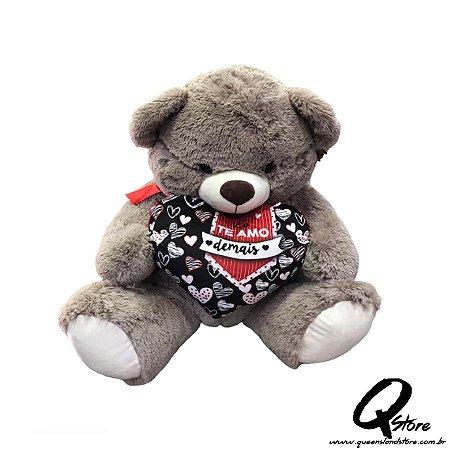 Urso Grande Pelúcia - 80 cm