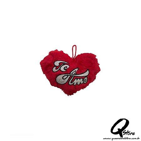 Mini Coração Vermelho Pelúcia - 15 cm