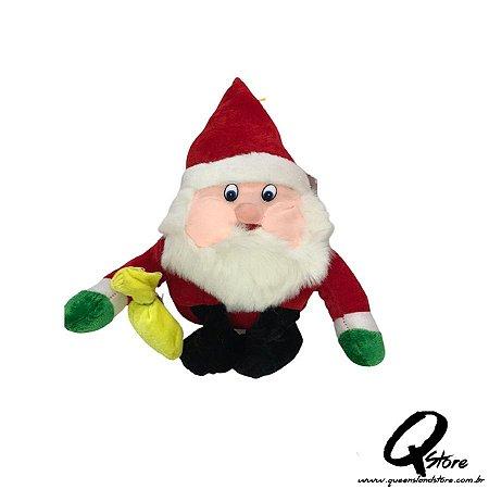Papai Noel Pelúcia - 38 cm