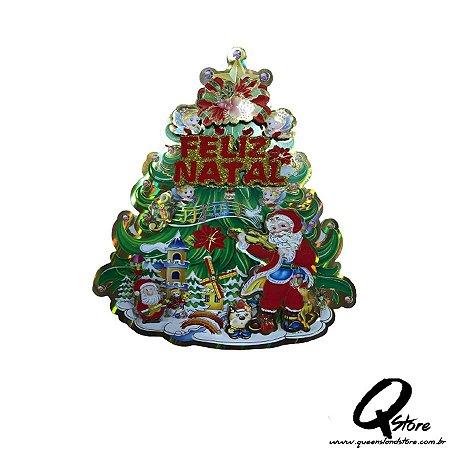 Painel Enfeite Natal Árvore
