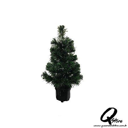 Mini Árvore de Natal Led Giratória  - 58 cm