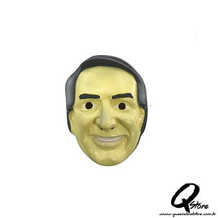 Máscara Plástica Bolsonaro