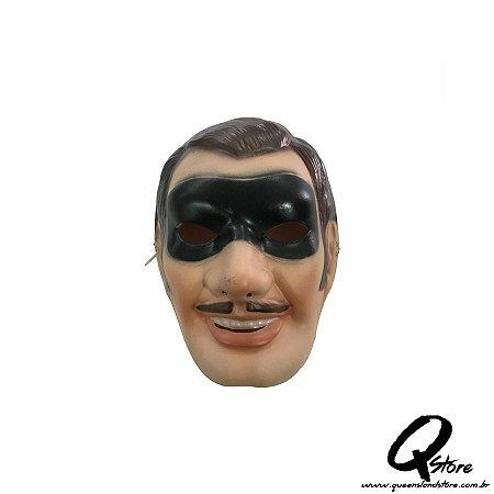 Máscara Plástica Zorro