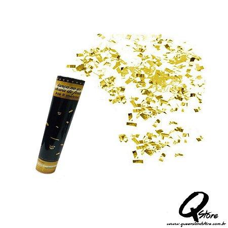 Lança Confete Dourado