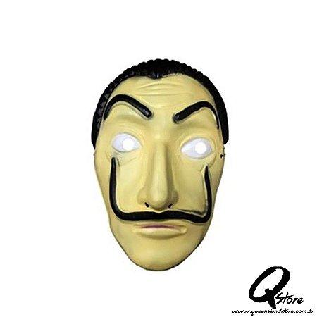 Máscara Salvador Dali -Plástico Simples