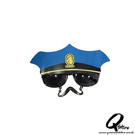 Óculos Policial c/ Bigode - Unidade