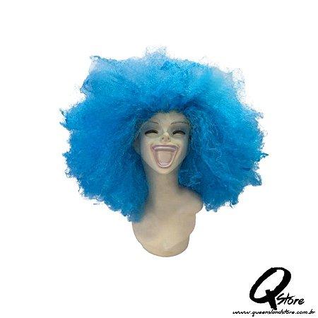 Peruca Black Power Gigante- Azul