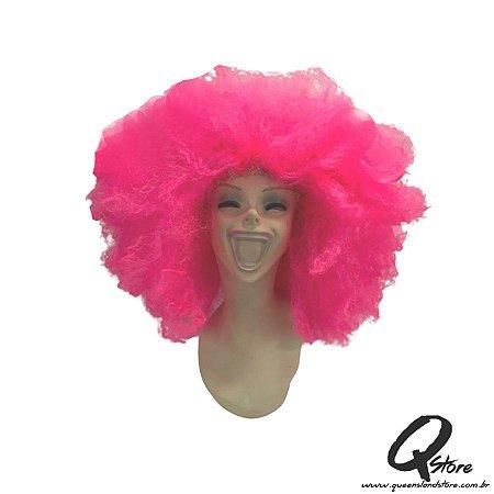 Peruca Black Power Gigante-  Pink