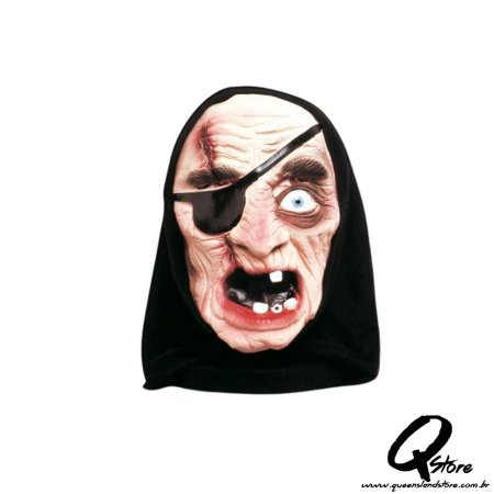 Máscara Pirata  c/ Capuz  - Spook