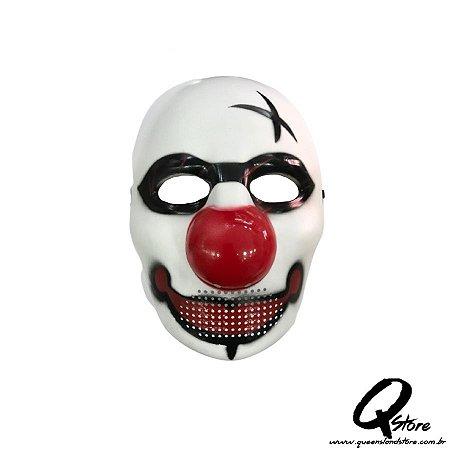 Máscara Palhaço Plástico