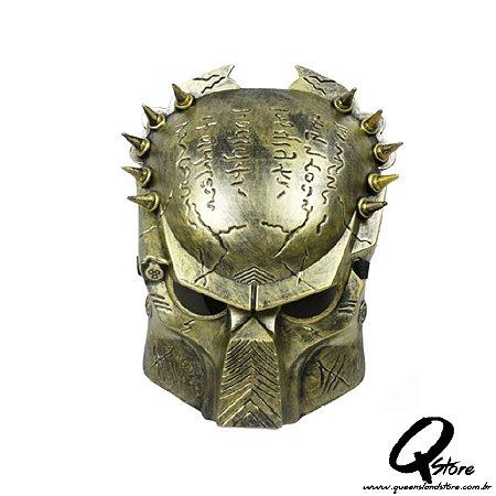 Máscara Predador Plástico - Dourado