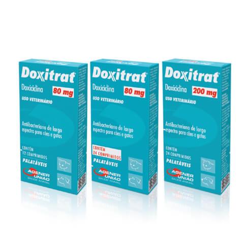 DOXITRAT 24 COMPRIMIDOS 80MG