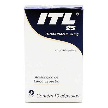 ITL 25MG - ITRACONAZOL
