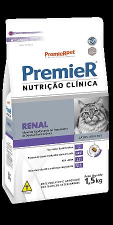 PREMIER NUTRI CLIN GATOS RENAL 1,5 KG