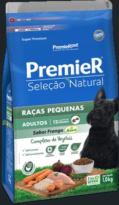 PREMIER SELEÇÃO CÃES ADULT RAÇAS PEQ 1KG