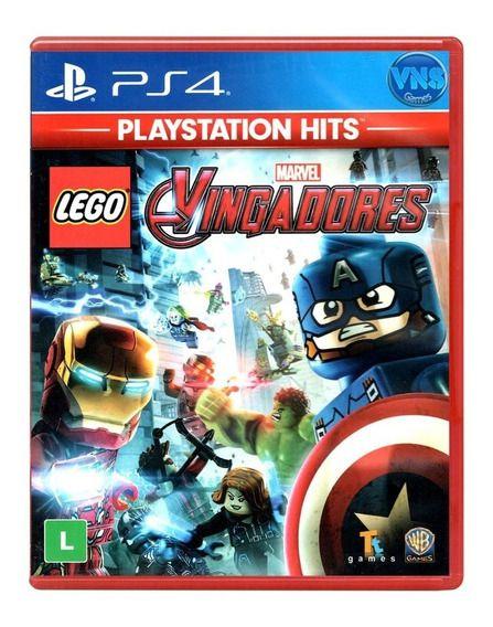 Lego Marvel Vingadores - Ps4 - LACRADO