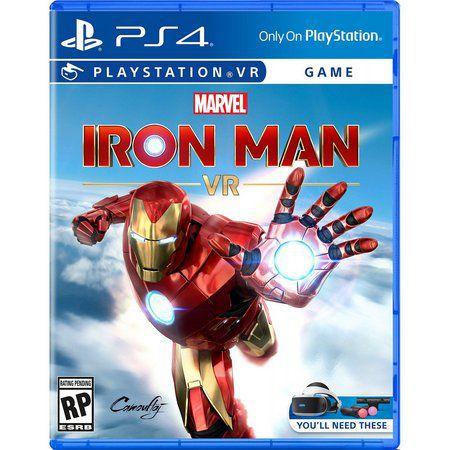 Marvel Iron Man VR - PS4 - LACRADO