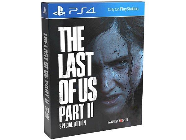 The Last of us Part II - Edição Especial Ps4 - LACRADO