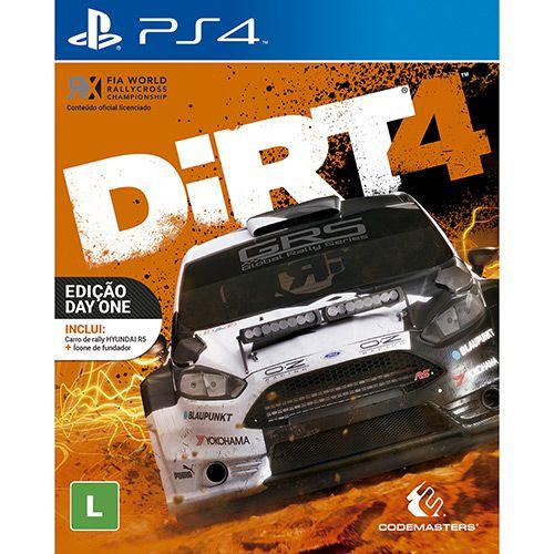Dirt 4 - Ps4 - USADO