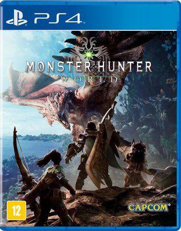 Monster Hunter World - PS4 - USADO