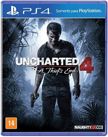 Uncharted 4 - PS4 - USADO