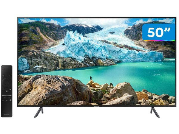 "TV 50"" LED SMART UN50RU7100GXZD UHD 4K 3HDMI 2USB"