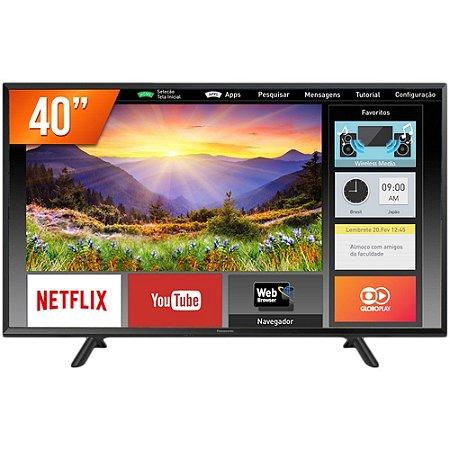 """TV 40"""" LED SMART TC-40FS600B FULL HD 2HDMI USB"""