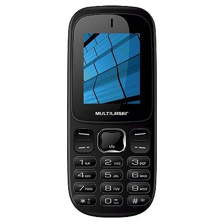 CELULAR UP 3G P9017 DUAL CHIP MP3 PRETO
