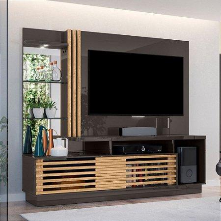 HOME FRIZZ PLUS - 2 Metros (Para Tv's de até 60 polegadas) /TITANIO /CARVALHO