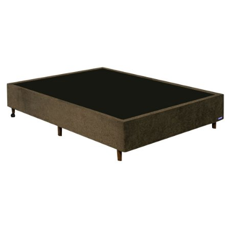 BASE CAMA CASAL GAZIN DUO EXTRA / COUNTRY SUED AMASSADO 138X188X27  ./MR
