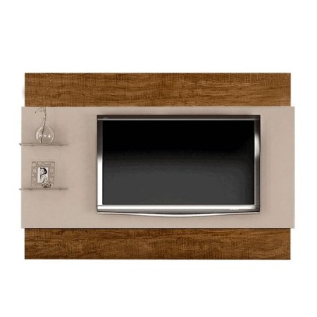 PAINEL TURIM + KIT LED (Suporta TV's de até 65 polegadas) ./OFF WHITE/YPE