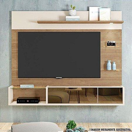 PAINEL AURIEN (PARA TVS ATÉ 65'') BURITI ./OFF-WHITE