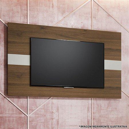 PAINEL FRANÇA P/ TV ATÉ 55'' - 160X90CM ./OFF WHI./NOGUEIRA