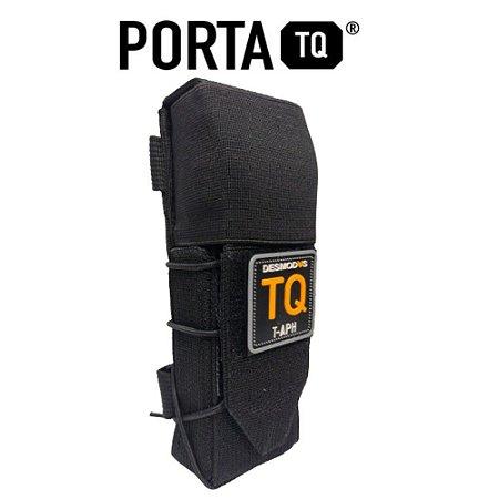 Porta Torniquete Desmodus Semi-rigido - Preto