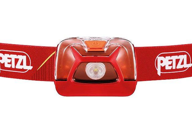 Lanterna de Cabeça Petzl Tikkina 250 Lumens - Vermelha