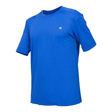 Camiseta Curtlo Active Fresh MC - Masculina - Azul Royal - GG