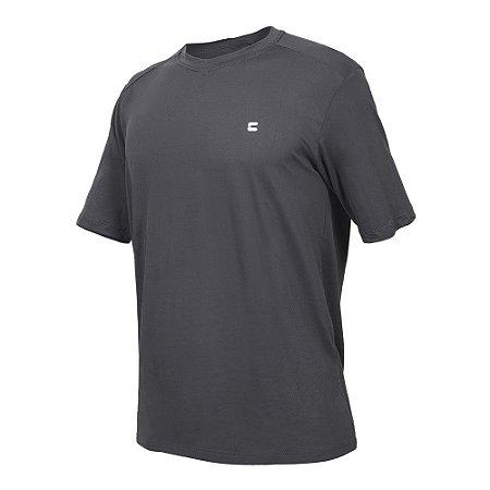 Camiseta Curtlo Active Fresh MC - Masculina - Chumbo - GG