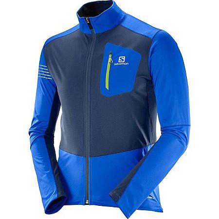 Jaqueta Salomon RS Softshell Masculino - Azul - EGG
