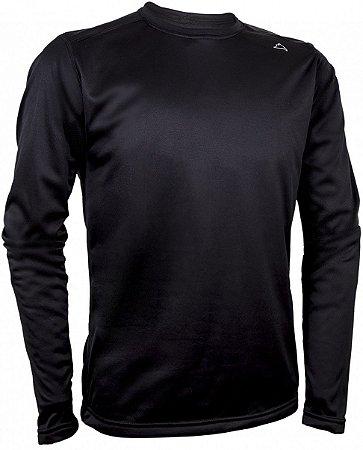 Camiseta Segunda Pele Conquista Arctic - Masculina - Preta